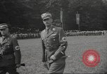 Image of German officer Germany Bavarian Alps, 1938, second 23 stock footage video 65675063408