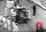 Image of United States ship in a storm Atlantic Ocean, 1933, second 28 stock footage video 65675063409