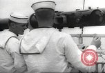 Image of United States ship in a storm Atlantic Ocean, 1933, second 37 stock footage video 65675063409