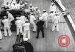 Image of United States ship in a storm Atlantic Ocean, 1933, second 41 stock footage video 65675063409