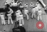 Image of United States ship in a storm Atlantic Ocean, 1933, second 49 stock footage video 65675063409