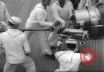 Image of United States ship in a storm Atlantic Ocean, 1933, second 53 stock footage video 65675063409