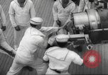 Image of United States ship in a storm Atlantic Ocean, 1933, second 54 stock footage video 65675063409