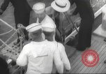 Image of Refugees are brought to an American Navy ship for evacuation Europe, 1936, second 8 stock footage video 65675063410