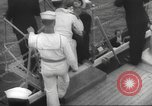 Image of Refugees are brought to an American Navy ship for evacuation Europe, 1936, second 10 stock footage video 65675063410