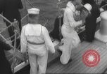 Image of Refugees are brought to an American Navy ship for evacuation Europe, 1936, second 11 stock footage video 65675063410