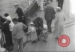 Image of Refugees are brought to an American Navy ship for evacuation Europe, 1936, second 24 stock footage video 65675063410