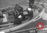 Image of Refugees are brought to an American Navy ship for evacuation Europe, 1936, second 33 stock footage video 65675063410