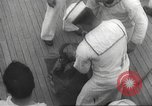 Image of Refugees are brought to an American Navy ship for evacuation Europe, 1936, second 47 stock footage video 65675063410
