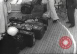 Image of Refugees are brought to an American Navy ship for evacuation Europe, 1936, second 50 stock footage video 65675063410