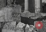 Image of damage from fire in Liria Palace during Spanish Civil War Madrid Spain, 1936, second 20 stock footage video 65675063412