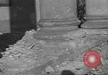 Image of damage from fire in Liria Palace during Spanish Civil War Madrid Spain, 1936, second 32 stock footage video 65675063412