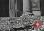 Image of damage from fire in Liria Palace during Spanish Civil War Madrid Spain, 1936, second 41 stock footage video 65675063412