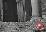Image of damage from fire in Liria Palace during Spanish Civil War Madrid Spain, 1936, second 42 stock footage video 65675063412