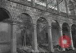 Image of destroyed palace Guadalajara Spain, 1936, second 6 stock footage video 65675063413