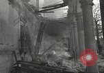 Image of destroyed palace Guadalajara Spain, 1936, second 11 stock footage video 65675063413