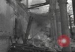 Image of destroyed palace Guadalajara Spain, 1936, second 12 stock footage video 65675063413