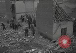 Image of search for survivors after Spanish Civil War bomb attack Spain, 1936, second 9 stock footage video 65675063415
