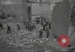 Image of search for survivors after Spanish Civil War bomb attack Spain, 1936, second 12 stock footage video 65675063415