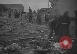 Image of search for survivors after Spanish Civil War bomb attack Spain, 1936, second 57 stock footage video 65675063415