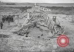 Image of bomb destroyed bridge in Spanish Civil War Spain, 1936, second 29 stock footage video 65675063417