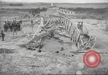 Image of bomb destroyed bridge in Spanish Civil War Spain, 1936, second 32 stock footage video 65675063417