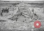Image of bomb destroyed bridge in Spanish Civil War Spain, 1936, second 33 stock footage video 65675063417