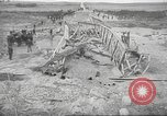 Image of bomb destroyed bridge in Spanish Civil War Spain, 1936, second 34 stock footage video 65675063417