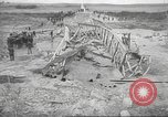 Image of bomb destroyed bridge in Spanish Civil War Spain, 1936, second 35 stock footage video 65675063417