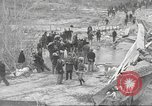 Image of bomb destroyed bridge in Spanish Civil War Spain, 1936, second 38 stock footage video 65675063417