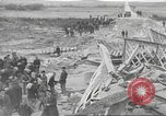 Image of bomb destroyed bridge in Spanish Civil War Spain, 1936, second 50 stock footage video 65675063417