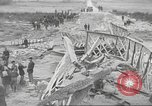 Image of bomb destroyed bridge in Spanish Civil War Spain, 1936, second 51 stock footage video 65675063417