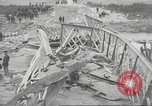 Image of bomb destroyed bridge in Spanish Civil War Spain, 1936, second 52 stock footage video 65675063417