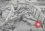 Image of bomb destroyed bridge in Spanish Civil War Spain, 1936, second 53 stock footage video 65675063417