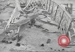 Image of bomb destroyed bridge in Spanish Civil War Spain, 1936, second 54 stock footage video 65675063417