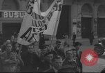 Image of Union supporters on parade Valencia Spain, 1936, second 7 stock footage video 65675063421