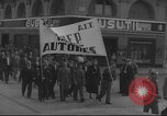 Image of Union supporters on parade Valencia Spain, 1936, second 22 stock footage video 65675063421