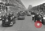 Image of French soldiers Paris France, 1944, second 27 stock footage video 65675063432