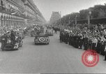 Image of French soldiers Paris France, 1944, second 31 stock footage video 65675063432