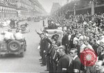 Image of French soldiers Paris France, 1944, second 39 stock footage video 65675063432