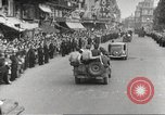 Image of French soldiers Paris France, 1944, second 51 stock footage video 65675063432