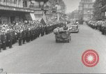 Image of French soldiers Paris France, 1944, second 59 stock footage video 65675063432