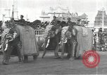 Image of Procession with decorated elephant Bombay India, 1932, second 3 stock footage video 65675063442