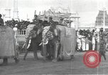 Image of Procession with decorated elephant Bombay India, 1932, second 5 stock footage video 65675063442
