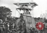 Image of Procession with decorated elephant Bombay India, 1932, second 8 stock footage video 65675063442