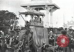 Image of Procession with decorated elephant Bombay India, 1932, second 9 stock footage video 65675063442