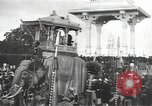 Image of Procession with decorated elephant Bombay India, 1932, second 13 stock footage video 65675063442