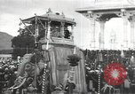 Image of Procession with decorated elephant Bombay India, 1932, second 14 stock footage video 65675063442