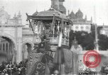 Image of Procession with decorated elephant Bombay India, 1932, second 16 stock footage video 65675063442