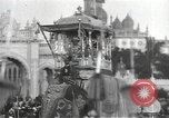 Image of Procession with decorated elephant Bombay India, 1932, second 17 stock footage video 65675063442